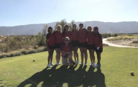 Girls Golf Wins League Championship