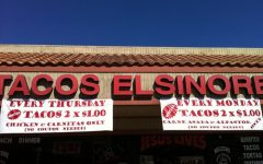 Michael's Super Fantastic Food Reviews-Tacos Elsinore's Enchiladas with Rice and Beans