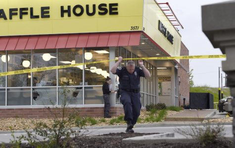 Man Saves People in Waffle House