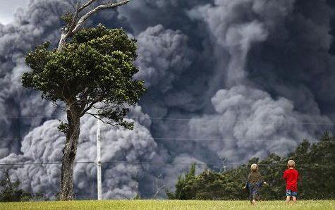Hawaii Volcano Ash Eruption