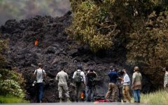 Two Story Lava Wall Blocks Crucial Escape Route