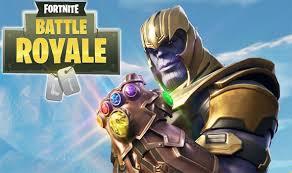 Thanos!? In Fortnite?
