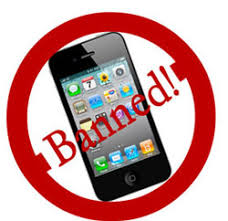 Banned from Using Phones at School?
