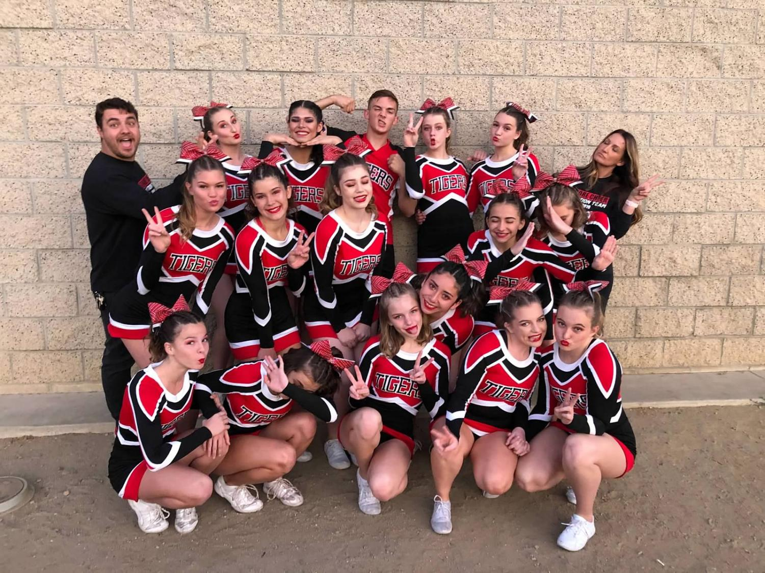 EHS Competition Cheer (19-20) team photo