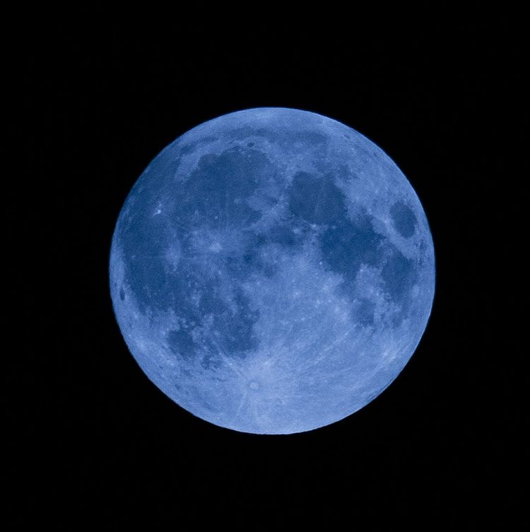 The Next Blue Moon is on Halloween