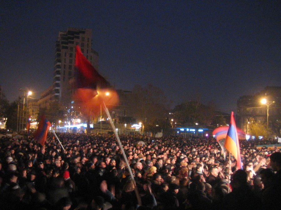 The Armenian Protests