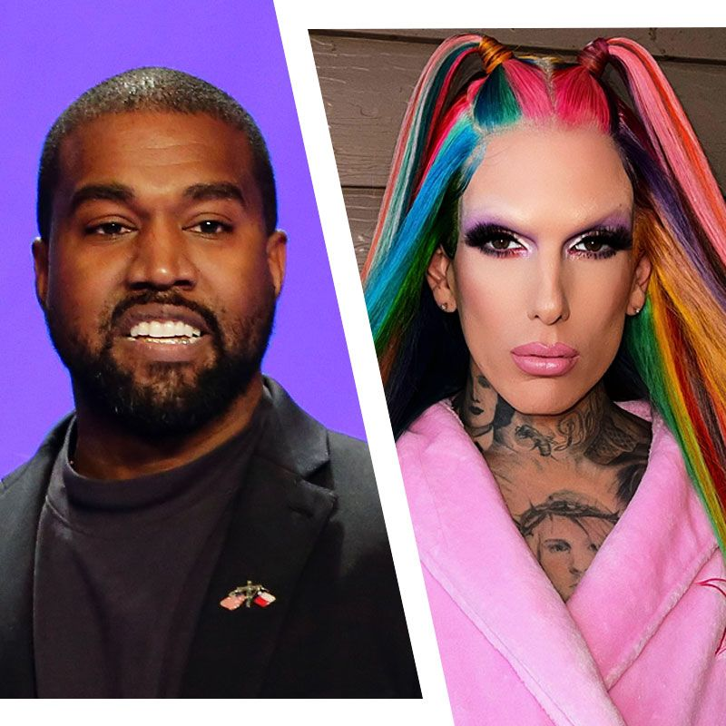 Jeffree Star Claims Rappers Are Sliding Into His DMs After Kanye West Cheating Rumors