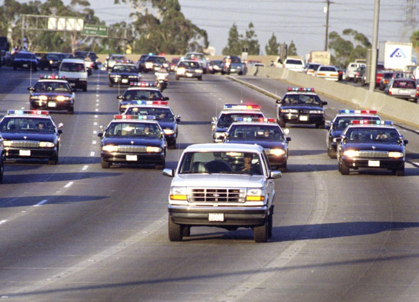 Car Chase in Lake Elsinore