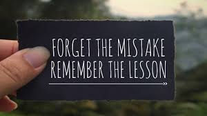 How Do You Recover From A Mistake?