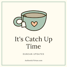 Now Is Your Time To Start Getting Caught Up!