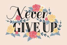 Why You Should Never Give Up
